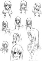 Hina Practice - Expressions by doaseiki