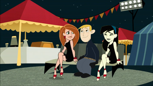 Kim and Shego dating Ron by Keanny
