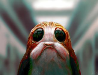 Porg! by RedSaucers