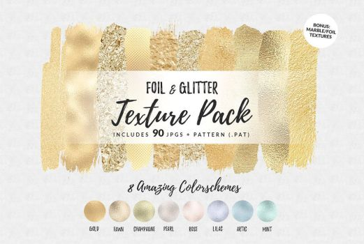 Foil and Glitter Texture by GraphicAssets