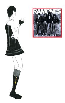 Fashion Design 3: Ramones by fanis01
