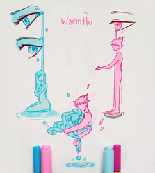 Warmth will dry your tears by larienne