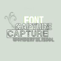 Fonts WIDL - Capture_it by wonderfulisddl