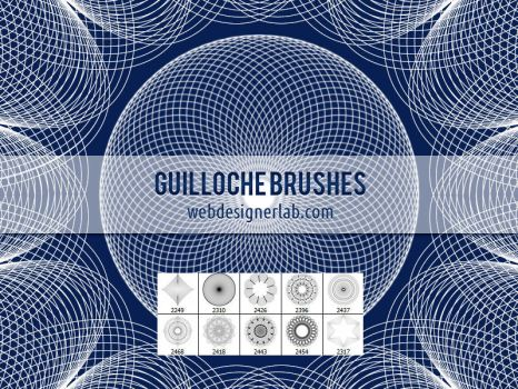 Guilloche Brushes by xara24