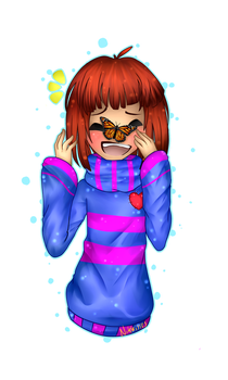 Undertale Frisk  by Nikkisses