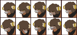 Commission - Brutus Emote Set