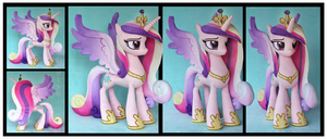 Princess Cadance Custom Plush by Nazegoreng