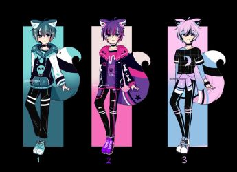 Random Adopts Auction | CLOSED by khatto-adopts