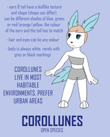 Corollune Info Sheet by FeralRAD