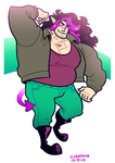 COMMISSION: large boy by Cubesona