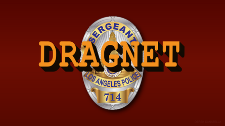 Dragnet TV Show Wallpaper by tempest790