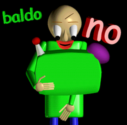 baldi watching inappropriate content by Doubla-R