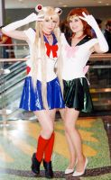 Sailor Moon and Jupiter Fan Expo 2015 by Lightning--Baron