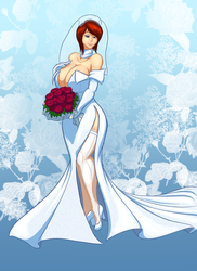 LS-CM, Busty Redheaded Bride by Toughset