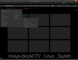 malys-blackCITY  for  Firefox (Stylish) by malysss
