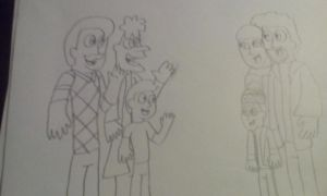 William, Heinz and Morty, Kevin, Marv and Harry by alexeigribanov
