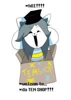Tem Shop Shirt Design by pokefighterlp