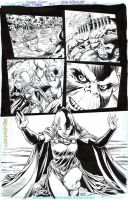 TEEN TITANS #97 Pg 6 - RAVEN 1/2 PG SPLASH Sold by DRHazlewood