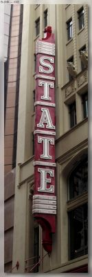 State Theatre Neon Sign by JohnK222
