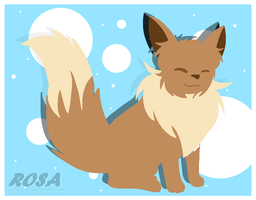 Lineless Eevee by FALCHI0N
