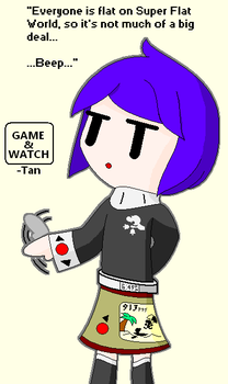 Game and Watch-Tan by Neo-Kirby-and-watch