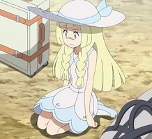 Lillie's Scared of Pokemon Once Again by WillDynamo55