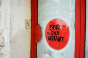 Paris Le Marais: Red Moment by neuroplasticcreative
