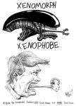 Xenomorph/XenoPhobe by OuthouseCartoons