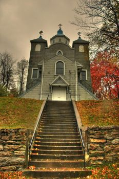 Centralia - Silent Hill Church by GhostDakota