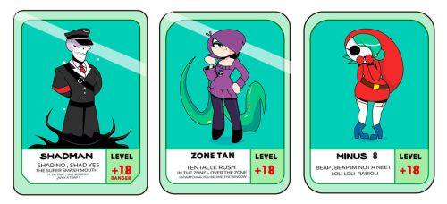 Pow cards  RIDERS OF DESTRUCTION by nikelvin