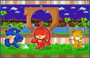 Adventure in Green Hill Zone by AngelicRoyalty