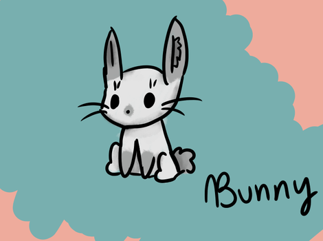 Bunny by AnimaloverXD