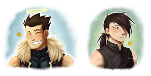 Emoji Meme - FMA - Greed and Greedling by Isi-Daddy