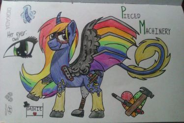 (OC)Pieced Machinery by MusicalNotes334