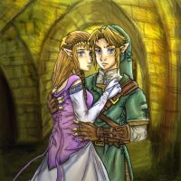 Zelink I Will Protect You by Rinkuchan27