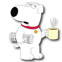 Brian Griffin - Family Guy by domejohnny