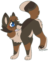 Chibi Canine by Err0R-SyStem