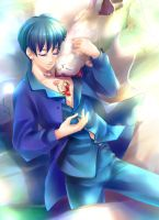 Arrietty and Sho 5 by solidmx