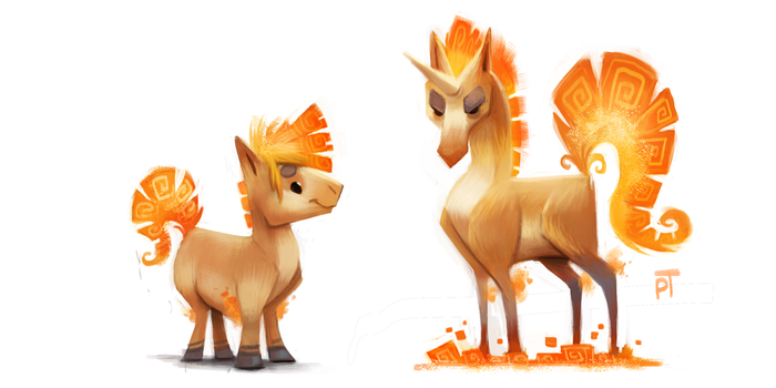 DAY 475. Kanto 077 - 078 by Cryptid-Creations