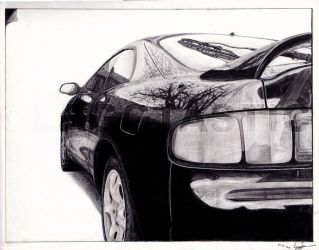 Toyota Celica 1995 by Laggtastic