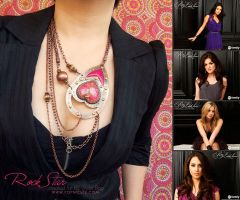 Rock Star Necklace for Pretty Little Liars by popnicute