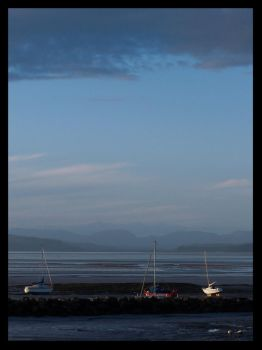 Morecambe Bay Boats by mattshaw
