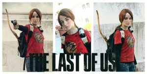 The Last of Us - Ellie Cosplay by xMysticDreamer