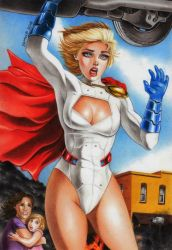 Power Girl by Somalo1