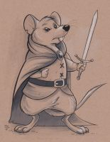 Mouse Warrior by marymouse