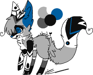 40 Point Fox Adopt (OPEN) by Perma-Fox