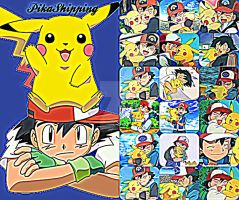 PikaShipping~Collage by TheKalosQueenSerena