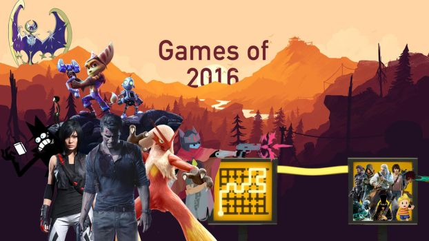 Games of 2016 by PacDuck