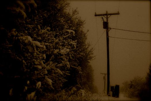 Power Lines to Oblivion by JackRiguel