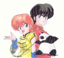 Ranma One-Half by Noloter